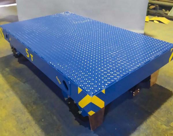 Производство рельсовой моторной телеги для окрасочно-сушильной камеры SPK от 31.03.21