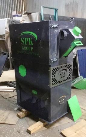 Производство воздушно-каскадного сепаратора для системы рекуперации дроби SPK от 10.06.21