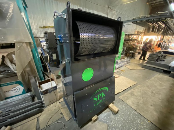 Воздушно-каскадный сепаратор для системы рекуперации дроби дробеструйной камеры SPK от 11.06.21