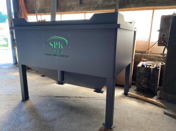 Изготовление системы рекуперации дроби для камеры дробеструйной очистки SPK от 11.06.21