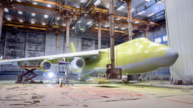 Производство окрасочно-сушильных камер для самолетов