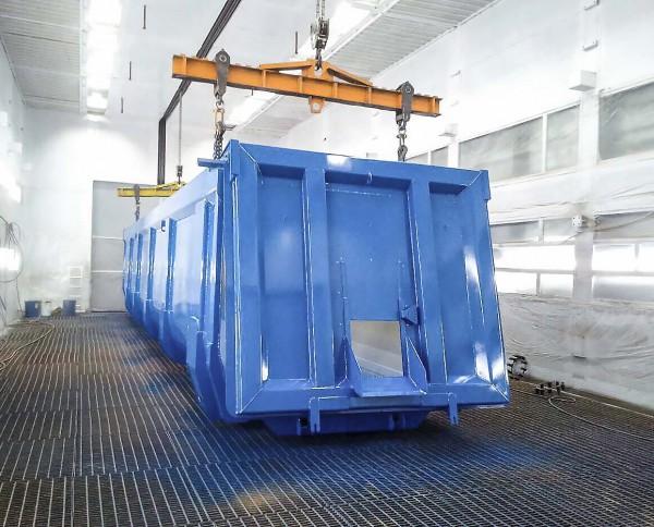 Производство окрасочно-сушильных камер для грузовых автомобилей