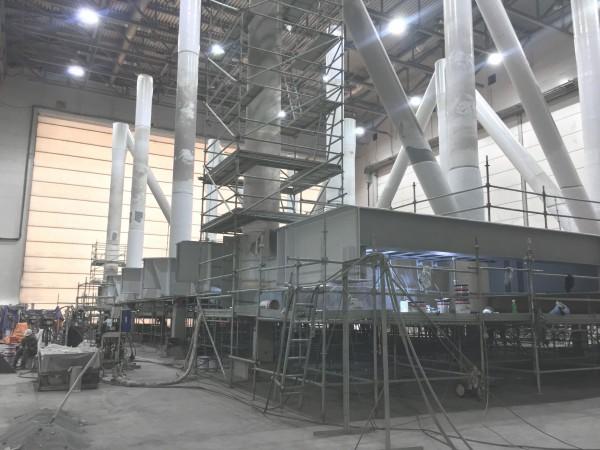 Производство покрасочных камер для судостроения