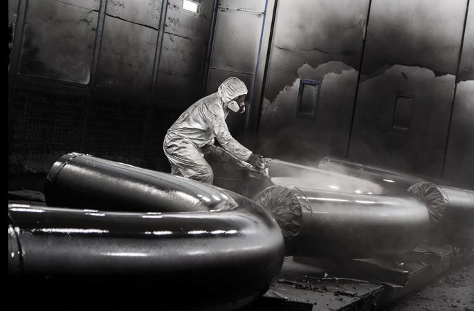 Производство окрасочных камер для нефтегазовой отрасли
