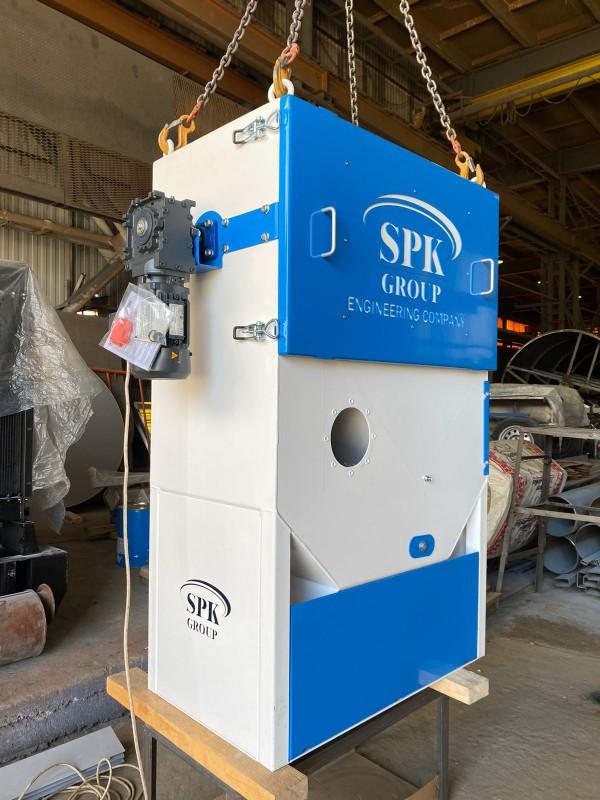 В производстве воздушно-каскадный сепаратор для системы рекуперации дроби СРД 20.2.01 13.08.21