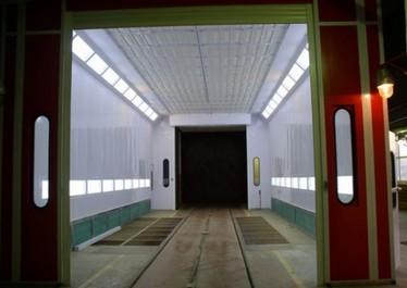 Окрасочно-сушильная камера для вагонов и локомотивов COLORTECH СТ 32.7.7