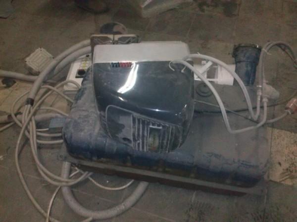 Демонтаж окрасочно сушильной камеры