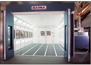 Покрасочная камера Saima Gamma Super