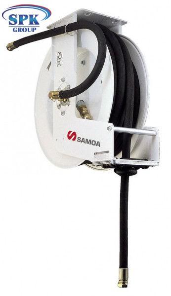 Инерционная катушка усиленная окрытая со шлангом, воздух/вода/масло/антифриз, 505200 SAMOA (Испания)