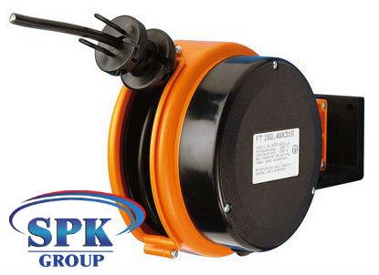 Кабельный инерционный барабан FT 150.5KK3075 , H05VV-F 3х0,75 , кабель 5м
