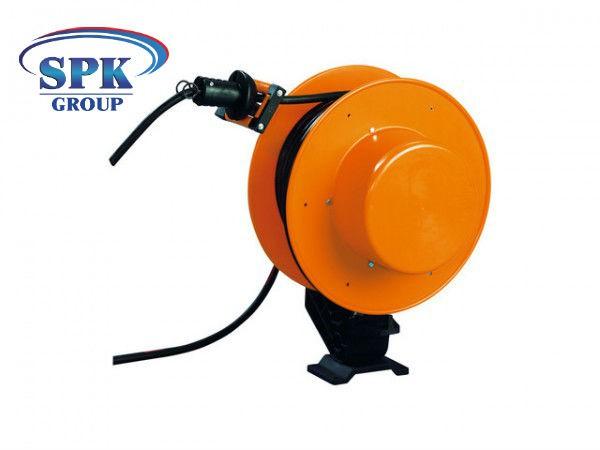 Инерционный кабельный барабан FT 038.0325.25, 3x2.5, 15м кабель.