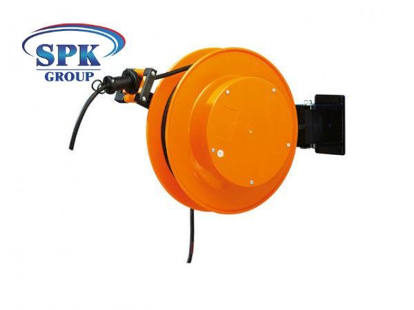 Кабельный инерционный барабан FT 038.0515, 5x1,5, 15 м кабель.