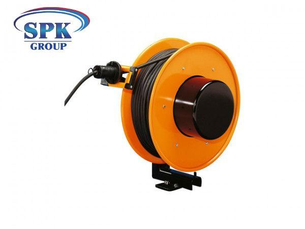 Инерционный кабельный барабан FT 046.0525.25, 5x2,5, 25м кабель.