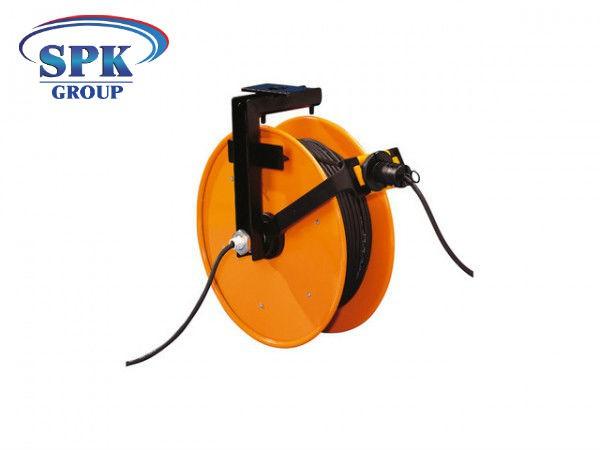 Кабельный барабан инерционный FT 046.0725, 7x1,5, 25м кабель.