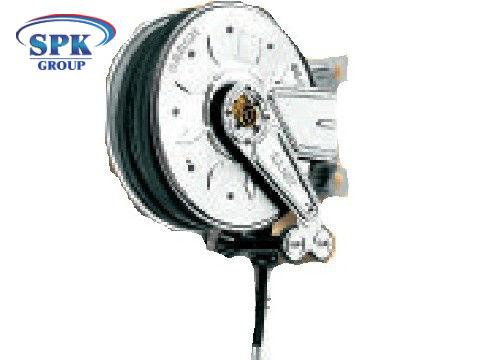 Инерционный шланговый барабан для консистентной смазки 600 бар  8390.50, 12м (993.511)