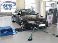 Стенд проверки мощностных характеристик у автомобилей Maha (Германия) FPS 5500