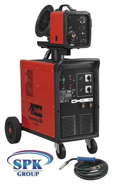 TELWIN SUPERMIG 480 сварочный полуавтомат, 220-380В