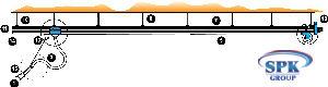 Система рельсовая Trolley MEDI 125