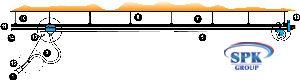 Система рельсовая Trolley MINI 125
