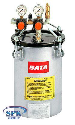 SATA Бак нагнетательный на 10 л с двойным редуктором