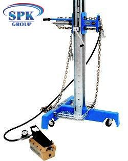Стойка силовая EZE Roller (2743 мм) WEDGE CLAMP 13000