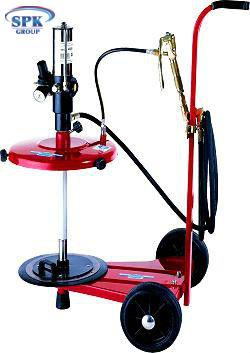 Комплекс для раздачи густой смазки для 18-30 кг бочек на 2-колесном шасси FLEXBIMEC  4920(С)