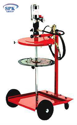 Комплекс на 4-колесном шасси для раздачи густых смазок из 50-60 кг бочек FLEXBIMEC 4980(С)