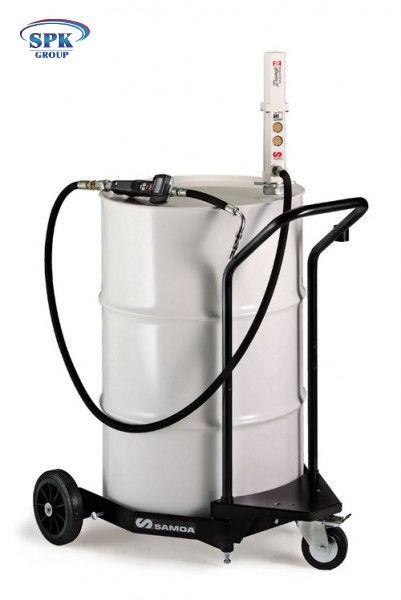 Комплект для раздачи масла из бочек 200л на тележке. 376300, SAMOA, (Испания)