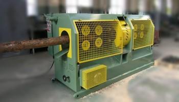 Оцилидровочные станки для производства бревен серия DNAA