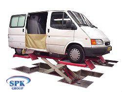 Подъемник ножничный CRASH LIFT Wheel Pick-Up NUSSBAUM COL025.00100D