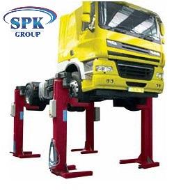 Комплект из 4 мобильных колонн г/п 5500 кг каждая SIRIO SRM 32