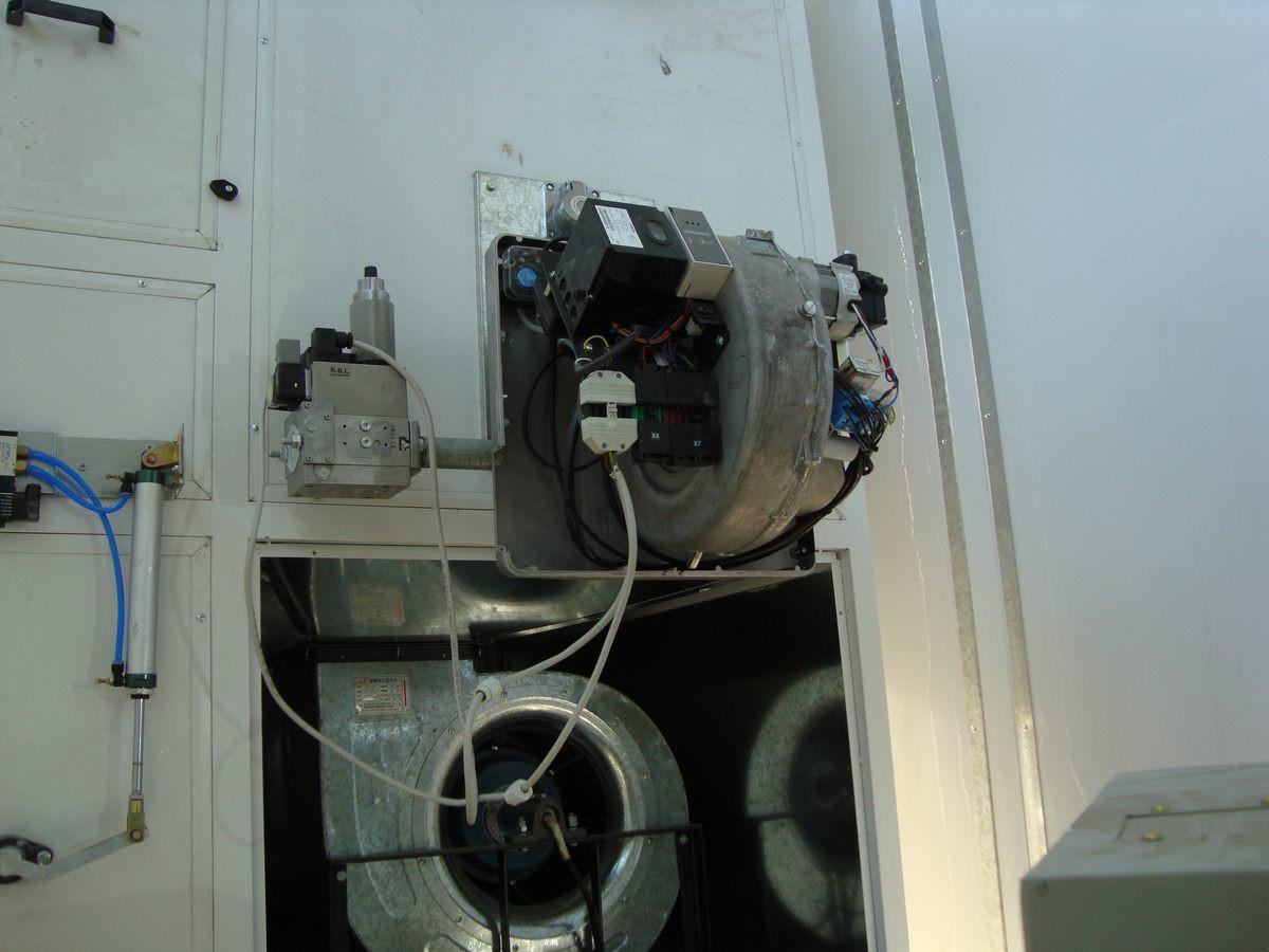 Окрасочно-сушильная камера для сварных металлоконструкций SPK 8х6х4