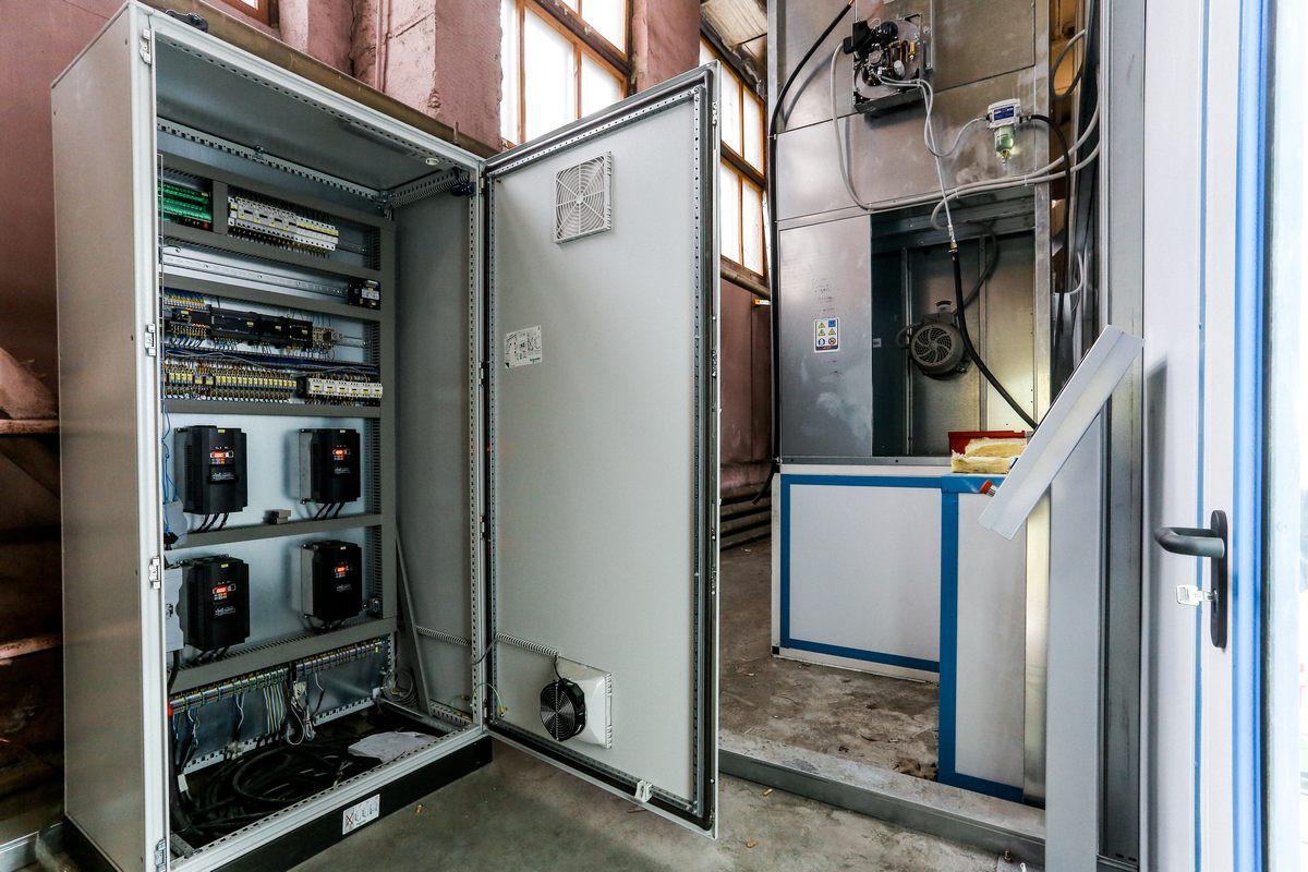 Производство шкафов управления покрасочных камер