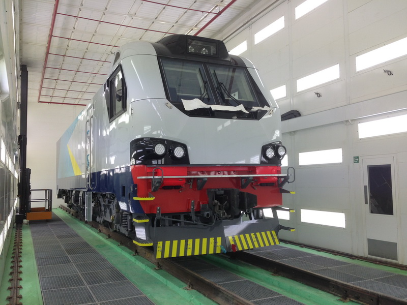 Покрасочно-сушильная камера для локомотивов SPK-56.7.7