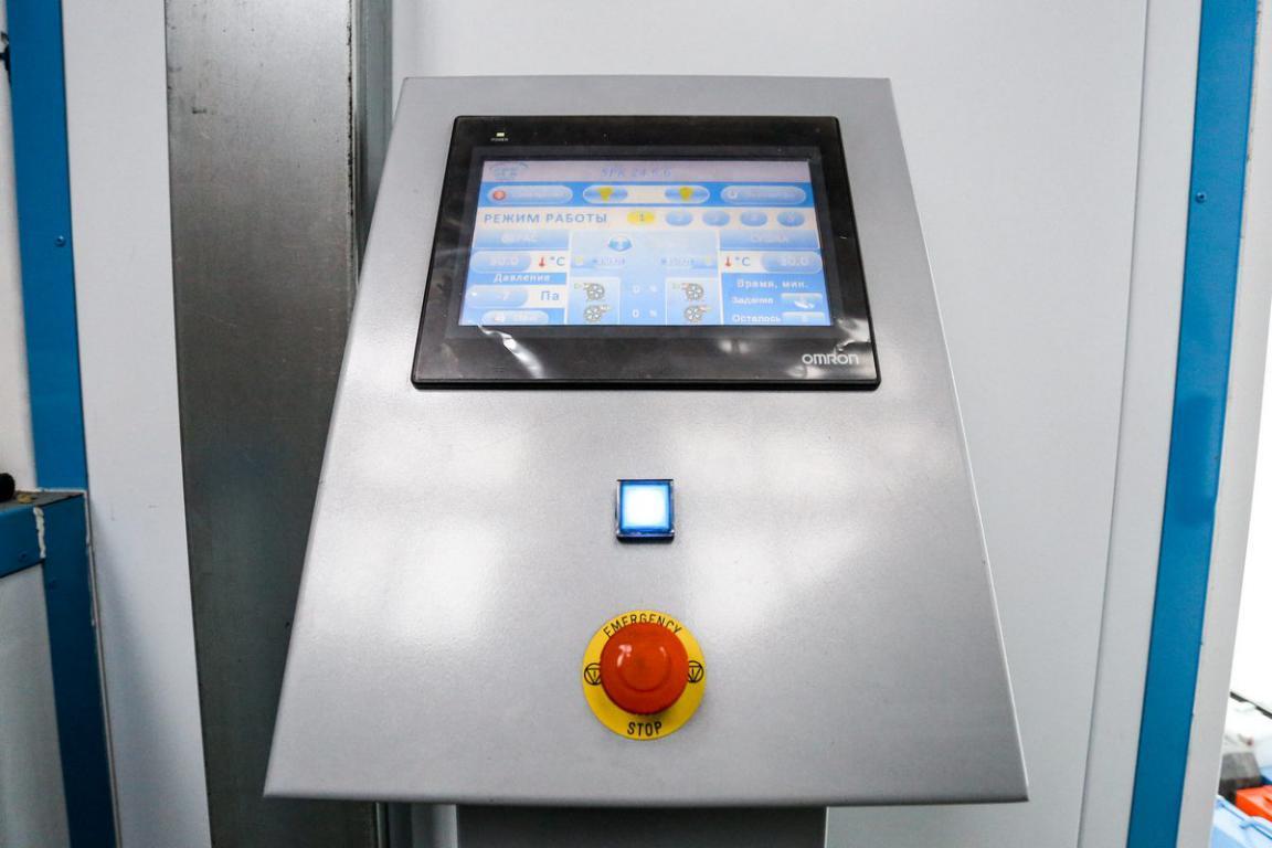 Покрасочно-сушильная камера для колесной буровой техники, г. Екатеринбург