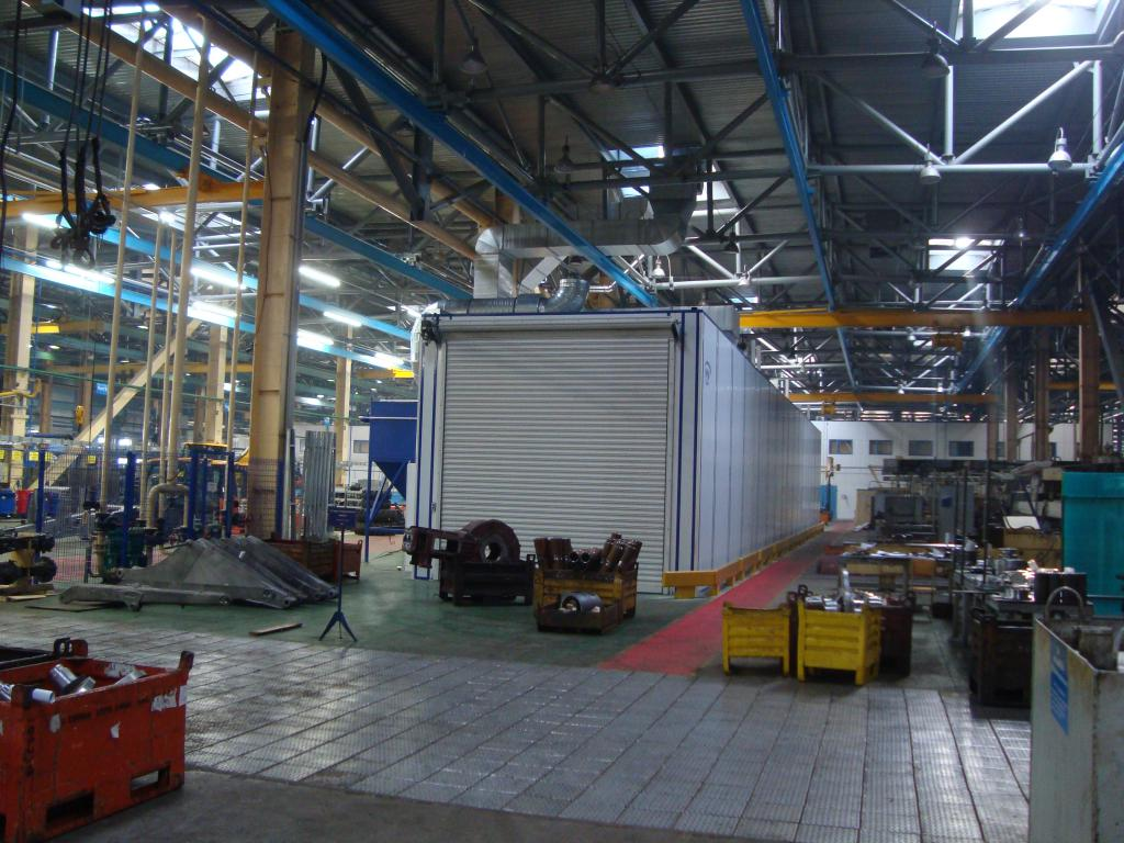 Комплекс для подготовки и покраски дорожно-строительной техники SPK-34.5.4, г. Елабуга