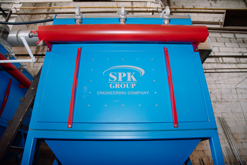 Комплекс подготовки на Челябинском механическом заводе: камеры дробеструйной обработки SPK-14.5.5 и SPK-6.4.4