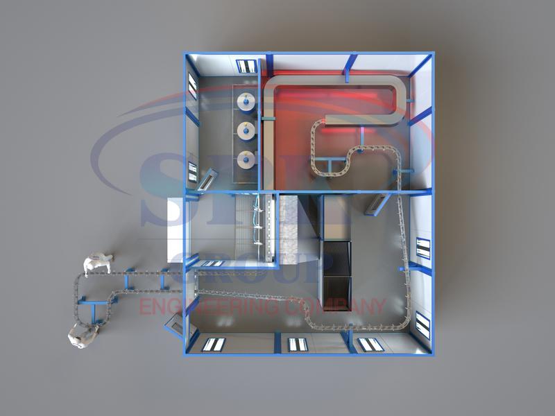 Линия автоматической окраски SPK