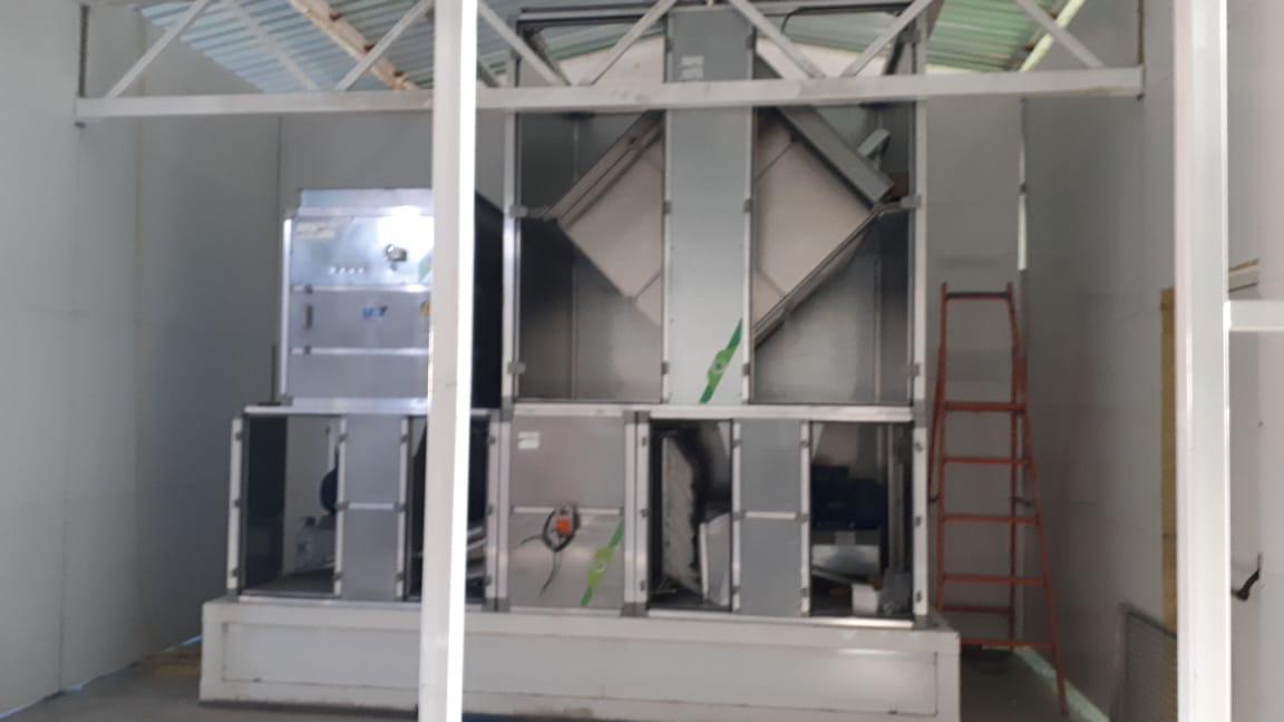 Окрасочно-сушильная камера SPK-T 9.4.3, г. Южносахалинск
