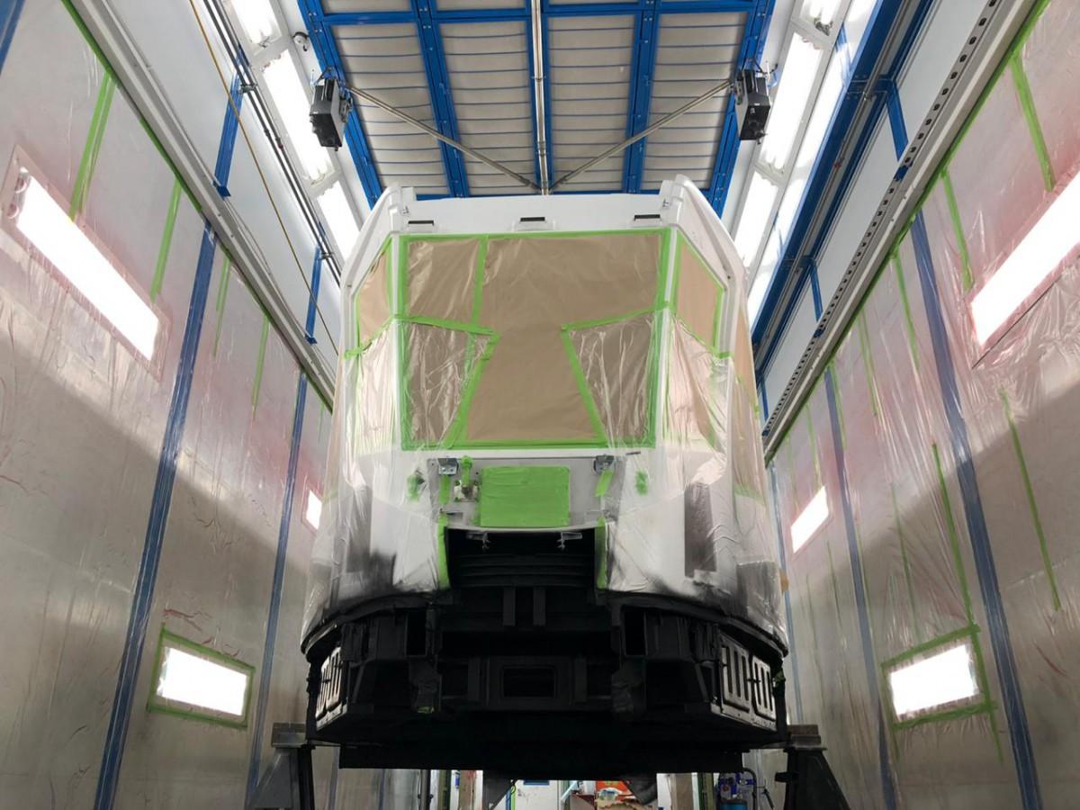 Покрасочно-сушильная камера для трамвайных вагонов SPK-30.6.7, г. Тверь