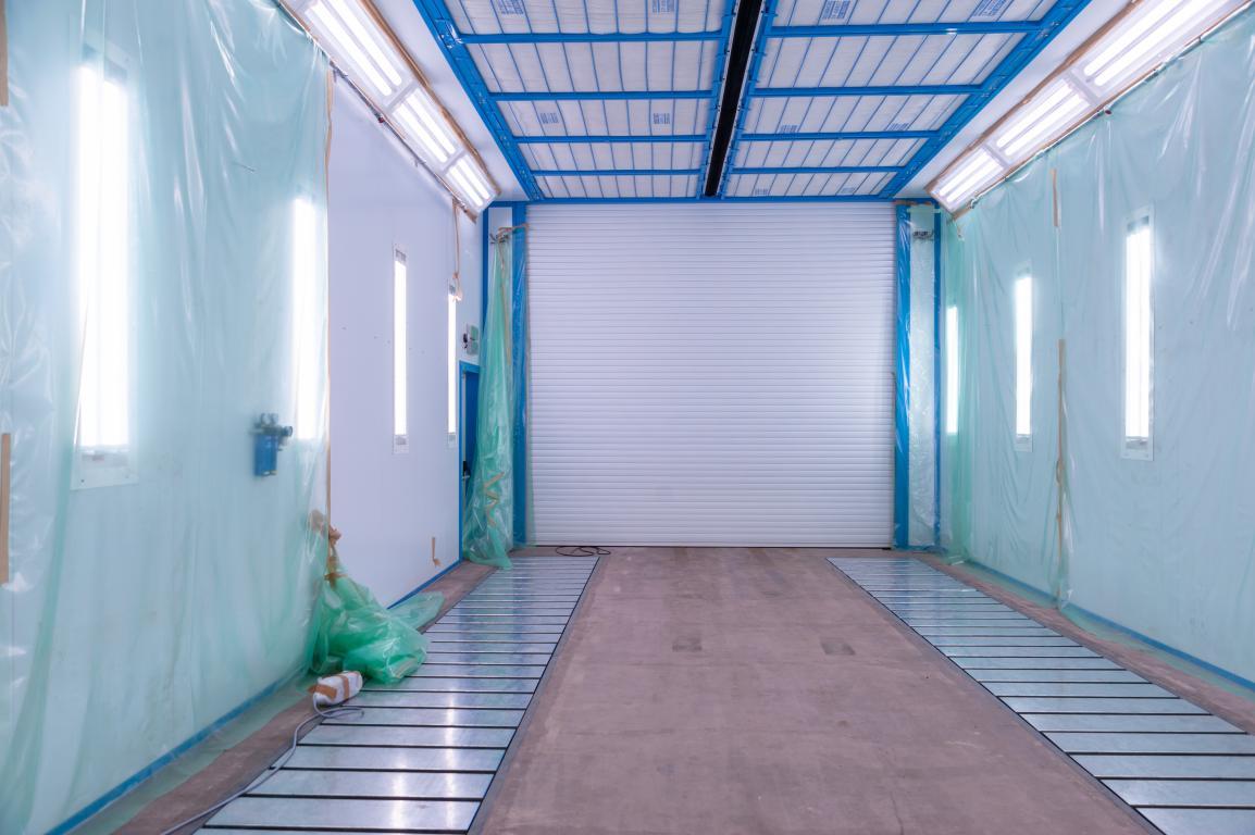 Комплекс для подготовки, мойки и покраски для машиностроительного предприятия, г. В. Луки