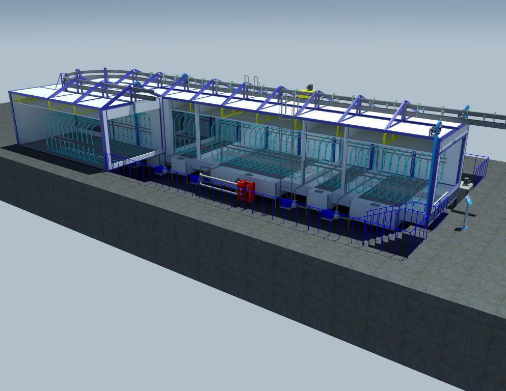 "Модернизация агрегата подготовки поверхности линии окраски ""цеха передних осей"" SPK-23.7.3"