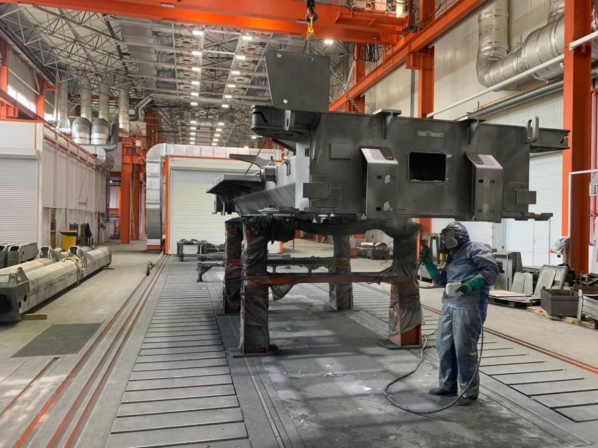 2 совмещенные зоны открытой окраски с камерой сушки SPK Z-72.6.9, г. Челябинск