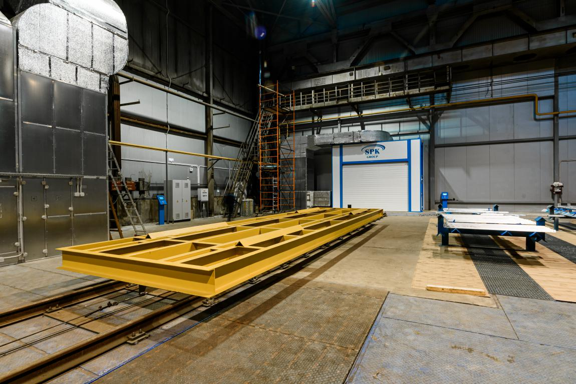 Комплекс подготовки и окраски SPK для производителя стальных конструкций, Тверская обл.