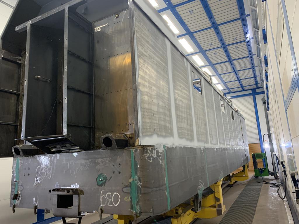 Окрасочно-сушильная камера SPK для деталей электровозов SPK-P 22.6.7, Свердловская обл.