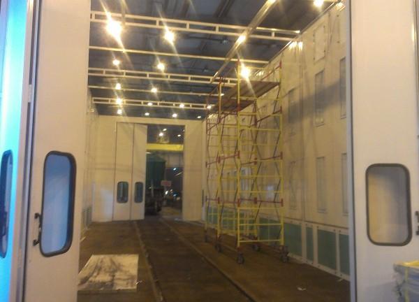 Покрасочно-сушильный комплекс для вагонов SPK-18x6x5