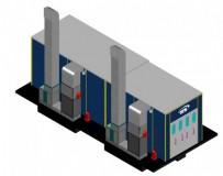 Окрасочно-сушильный комплекс для деталей вертолетов SPK-15.4.5