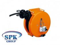 Кабельный барабан инерционный EFT 130.3KK3075 H03VV-F 3x0,75 кабель 3 м