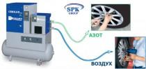 Генератор азота - CSM N2 5,5 NITRO / CSM N2 10 NITRO - Воздушно-азотный компрессор CSM N2 - Доступный азот