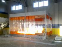 Реставрация окрасочно-сушильной камеры ЧЕРИ г. Нижний Тагил (установка 3 зон подготовки к окраске)
